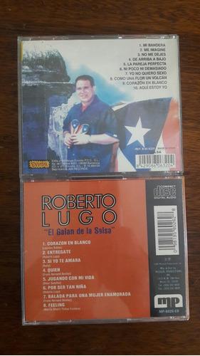 cds originales de salsa de roberto lugo