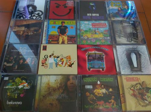 cds originales, marilyn manson, metallica, calle 13