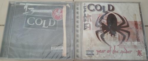 cds originales nuevos rock o metal cold importados sellados