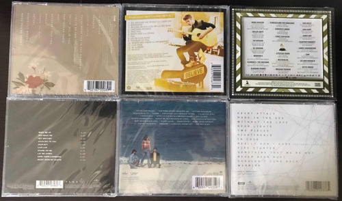 cds originales rock, pop, rap anglo - nuevos y sellados