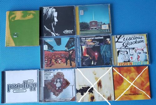 cds originales trip hop y electrónica