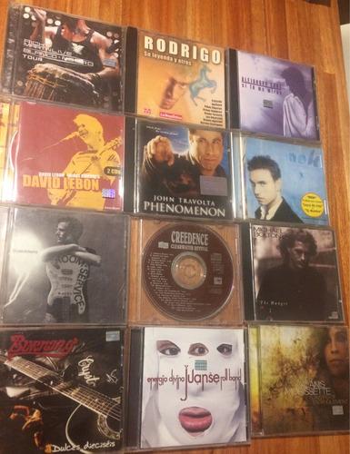 cds originales u2, pink floyd, rem, sting, rock argentino