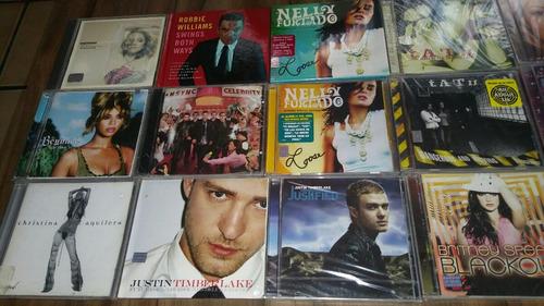 cds pop en ingles varios rihanna thalia britney madonna tatu