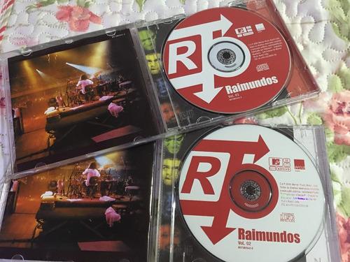cds raimundos - mtv ao vivo vol 1 e vol 2