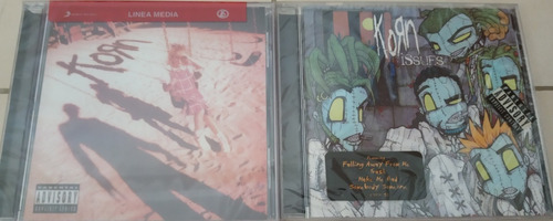 cds rock nu metal korn nuevos, sellados, importados