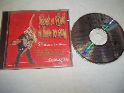 cds - rock'n roll is here to stay - rock classico