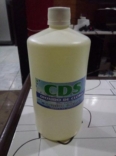 cds solucion de dioxido de cloro de 3000 ppm