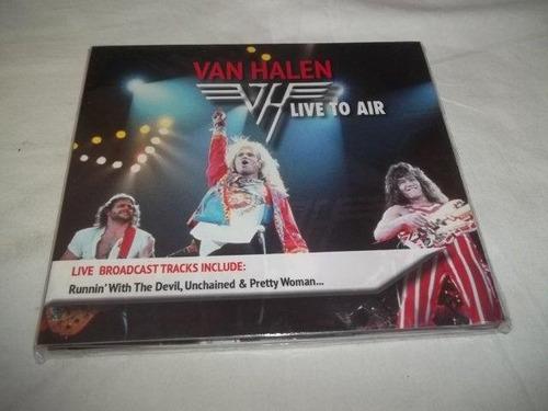 cds - van halen - live to air - rock classico