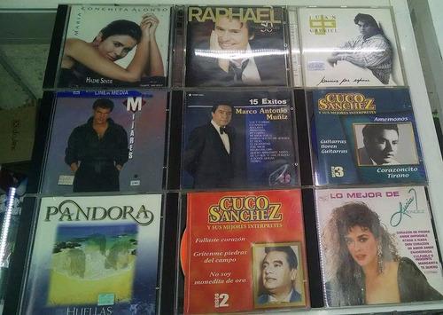 cd's varios temas y artistas  originales, perfecto estado !!