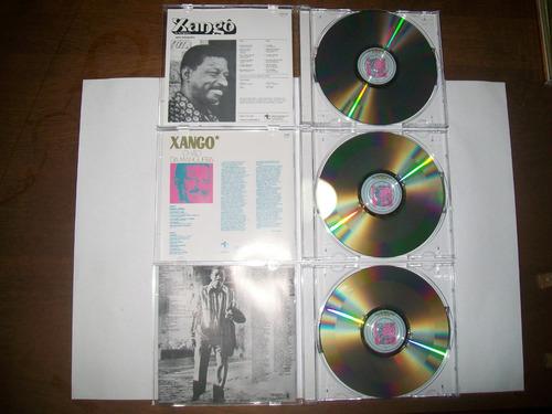 cds xangô da mangueira discobertas- 3vols:*1975 *1976 *1978