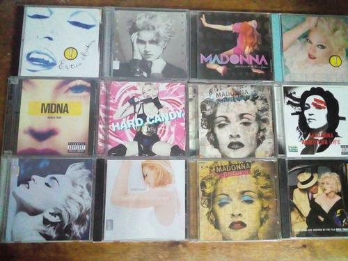 cds y dvds de madonna y kylie minogue