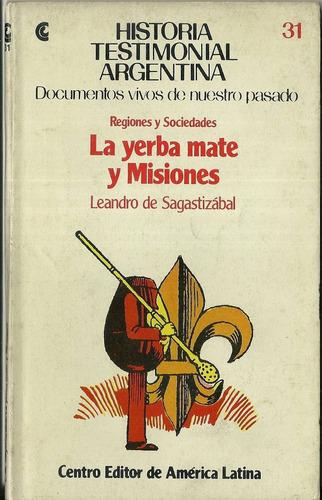 ceal historia argentina yerba mate misiones sagastizabal n31