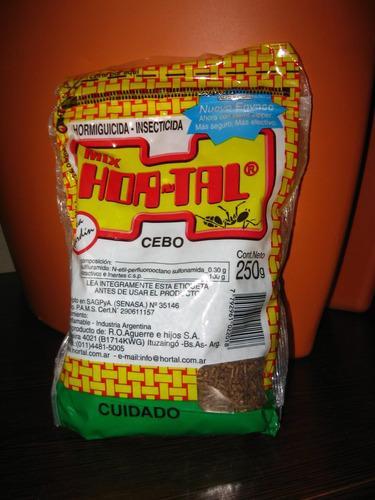 cebo hormigas hortal x 500g insecticida veneno mata hormiga