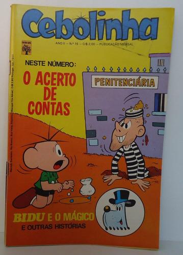 cebolinha ano 2- nº 15 - ed abril - março 1974