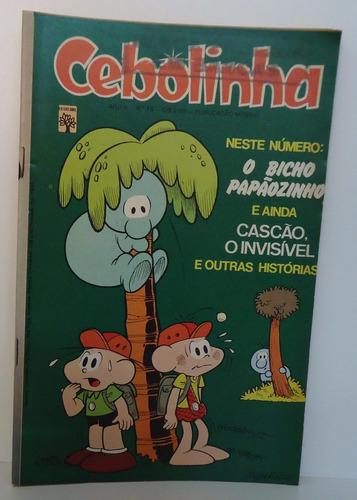 cebolinha ano 2 - nº 16 - ed abril - abril 1974