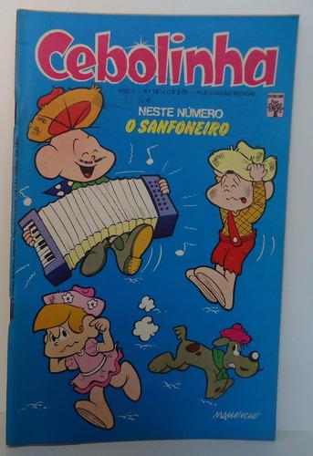 cebolinha ano 2 - nº 18 - ed abril - junho 1974