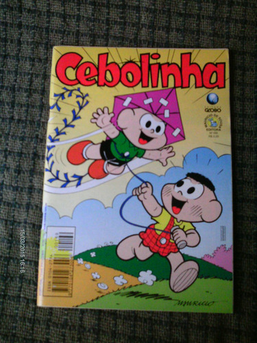 cebolinha  n. 169 - editora globo