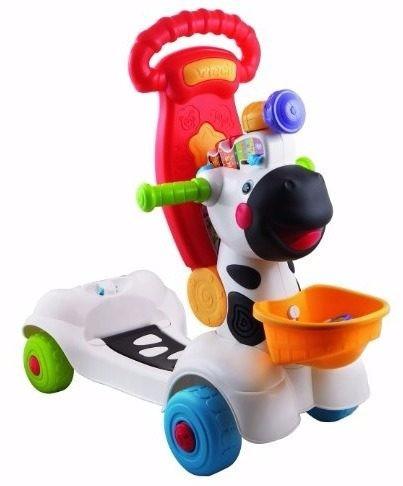 cebra scooter corre y descubre  vtech jugueteria bunny toys