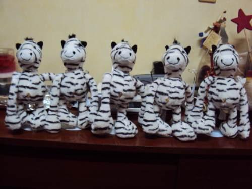 cebras bellisimos 38cms $85.00 c.u aa1