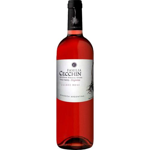 cecchin - familia cecchin - malbec rosé / caja x 6 bot.