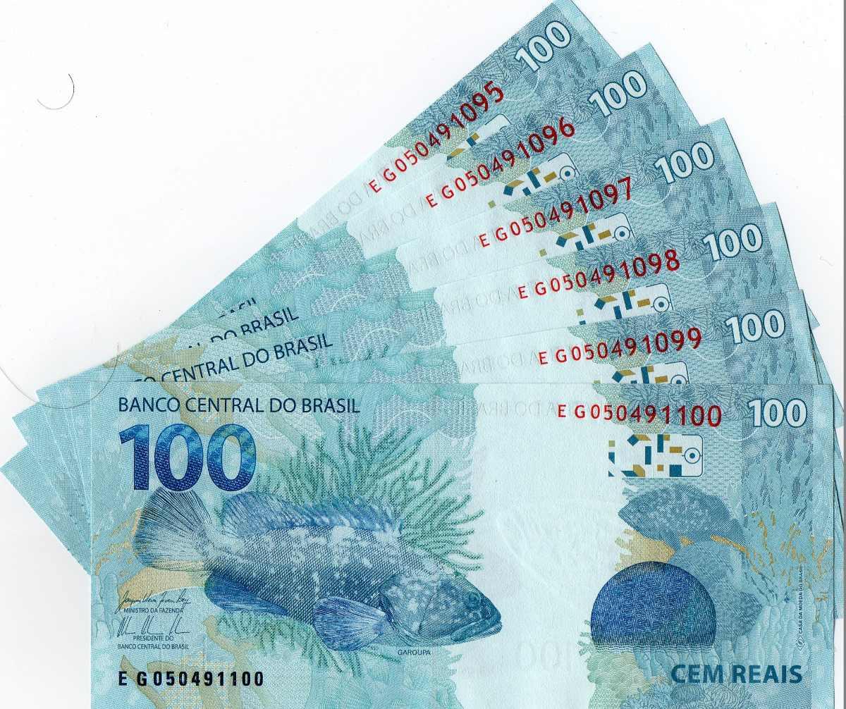 100 euros em reais