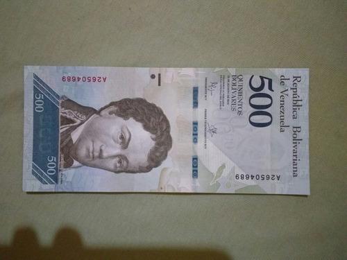 cedula 500 bolivares fe frete 7$