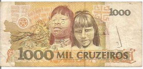 cédula brasil cruzeiros