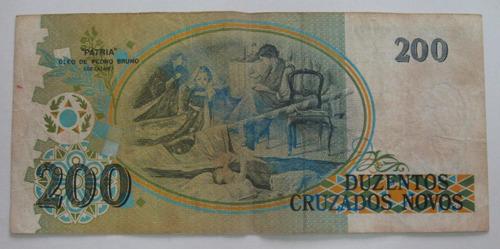 cédula cruz. novos 1989