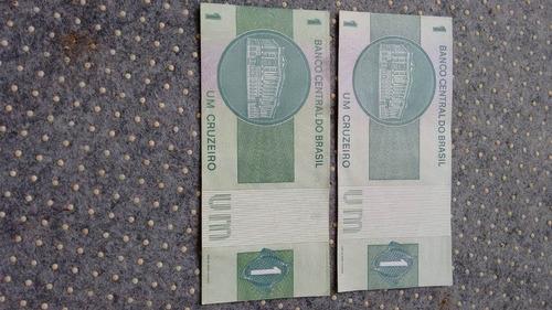 cedula de um 1 cruzeiro dinheiro antigo