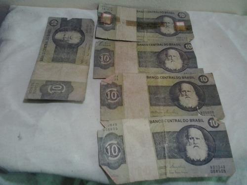cédulas antigas - 10 cruzeiros - notas antigas