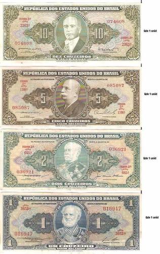 cédulas antigas de dinheiro brasileiro