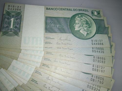 cédulas colecionáveis  raras cruzeiro/real,,,,, brasileiras