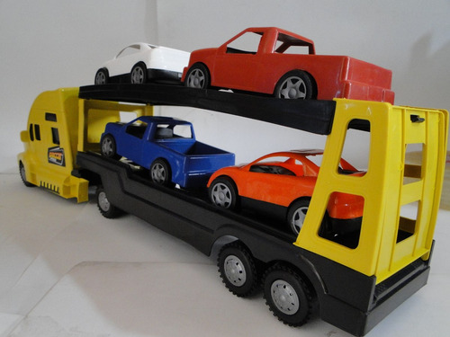 cegonheira caminhão carreta transcar 54cm x 11cm x 14cm