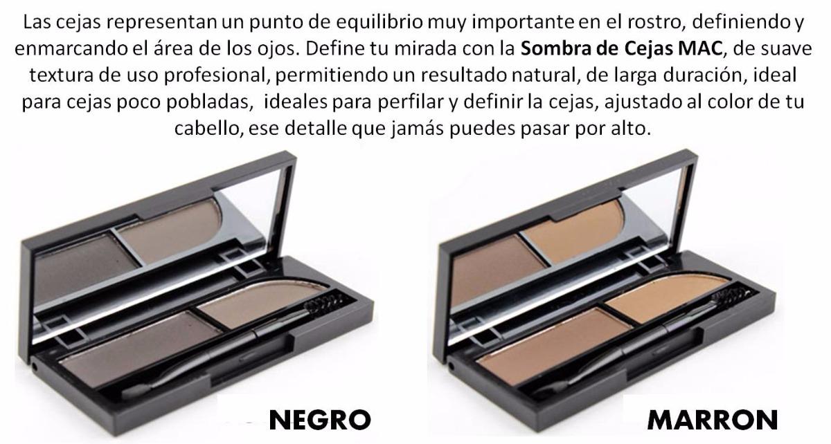 Cejas Perfectas Eyebrow Kit Delineador Mac 291 00 En Mercado Libre
