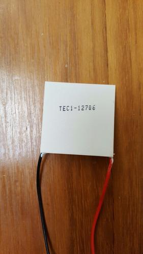 celda de peltier tec1-12706 nevera incubadora vinera refrige