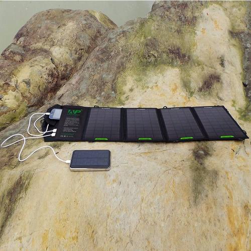 celda solar portatil universal all powers 18w 2amp 5v
