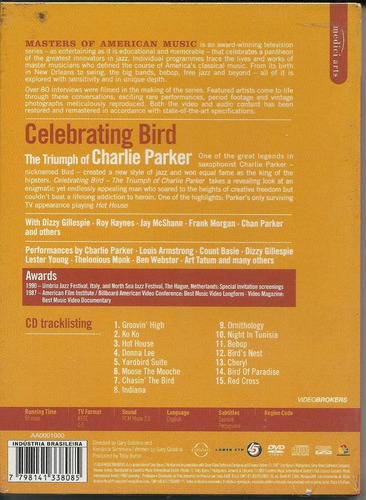 celebrating bird the triumph of charlie parker dvd+cd-digip