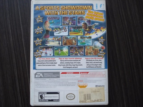 celebrety sports showdown  nintendo wii y wii u