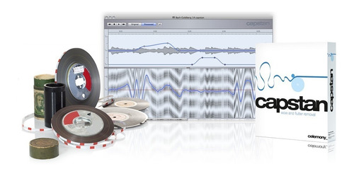 celemony capstan software restauracion audio original