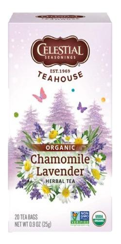 celestial tea house orgánico caja c/20