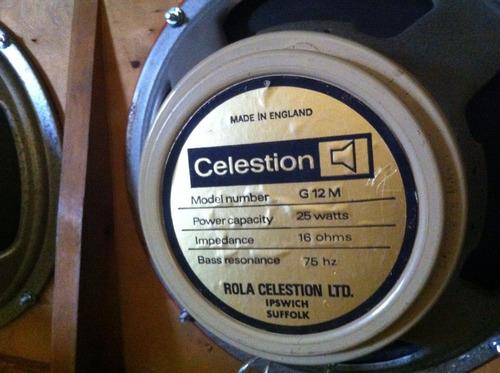 celestion creamback pre-rola