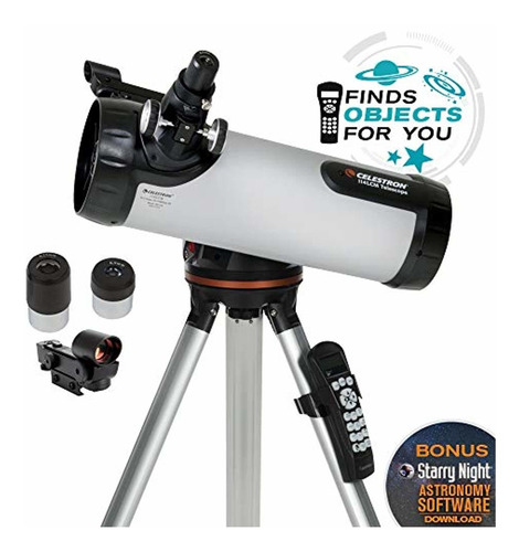 celestron 114lcm computerized telescopio  negro