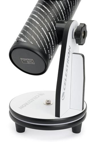 celestron 21024firstscope telescopio negro