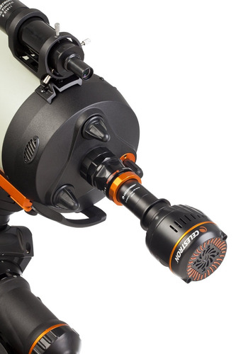 celestron 93644 edgehd 8 -inchtelescope photo adapter, negro