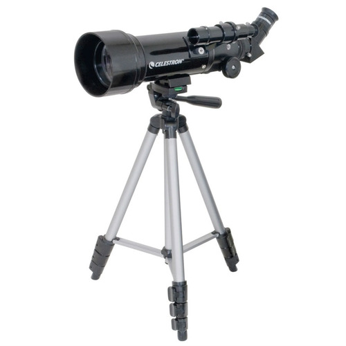 celestron® travel scope 70 telescopio refractor 70mm x 400mm