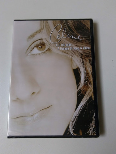 celine dion dvd - all the way... a decade of song & video