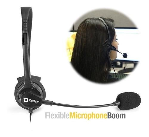 cellet cintillo manos libres headset audifono 3.5 mm minjack