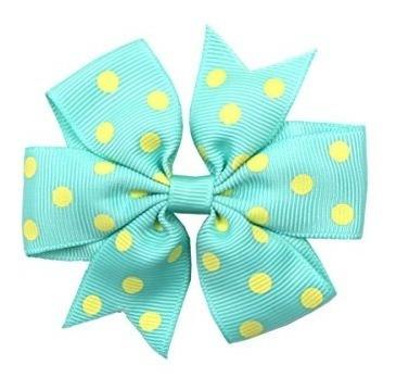 cellot baby girls ribbon polka dot hair bow pinzas para el c