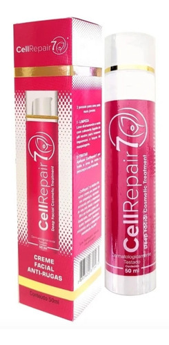 cellrepair7 tratamento facial profundo creme 50ml - original