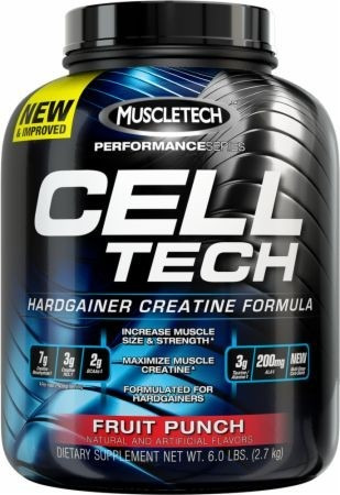 celltech creatina cell tech 6 lbs muscletech
